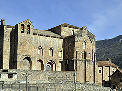 Siresa. Church of San Pedro (St Peter). 9th to 13th centuries