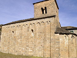 Santa Cruz de la Serós. Church of St Caprasio. 11th century